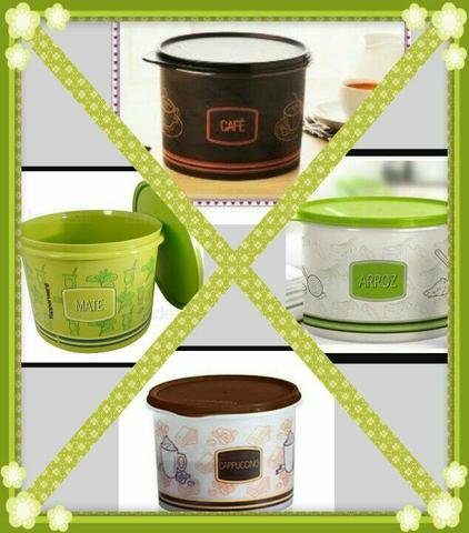 Kit Caixas Mantimentos Collors TUPPERWARE