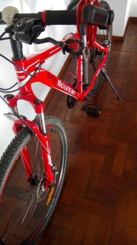 Biclicleta Pro montain aro 20/alúminio/sem uso