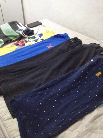 Vendo kit com camisetas tam M