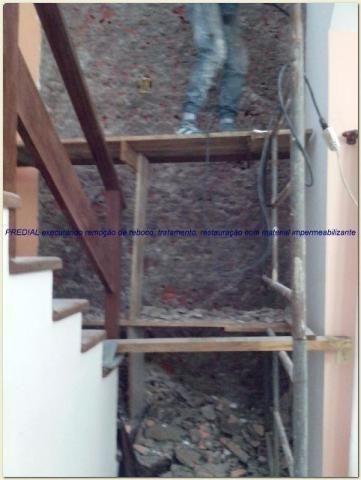 Impermeabilização de paredes e pedras decorativas (Paredes umidades)