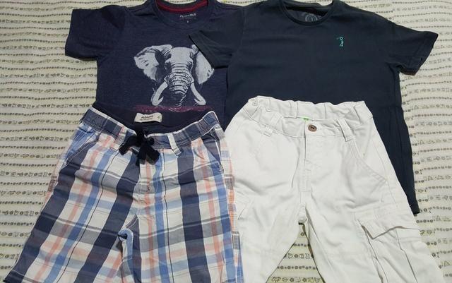 Combo roupas menino 4 a 5 anos