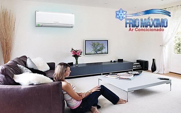 Instalação de ar condicionado 7.000 - 9.000 e 12.000 Btus - R$ 219,00