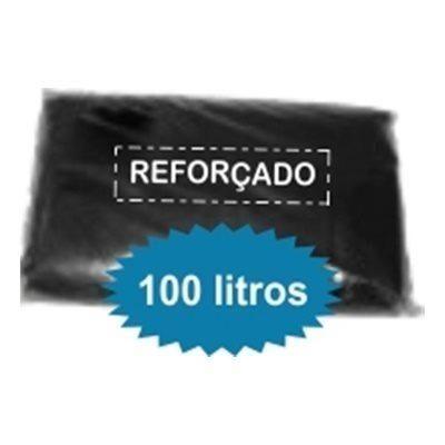 Saco de lixo Reforçado com 100 unidades