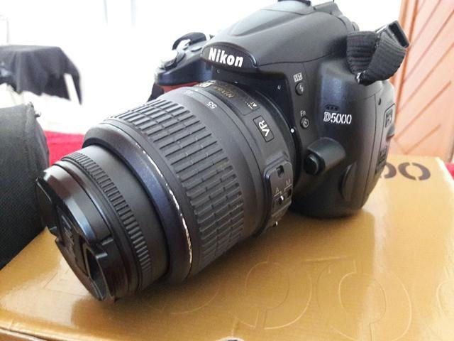 Camera Nikon d5000 ( so venda)