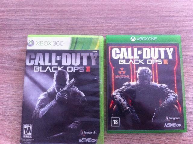 Jogo Xbos One COD Black Ops 3 + Black Ops 2