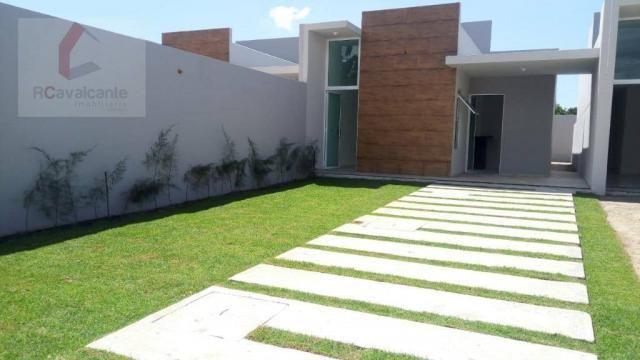 Casa Eusébio 03 quartos amplo terreno