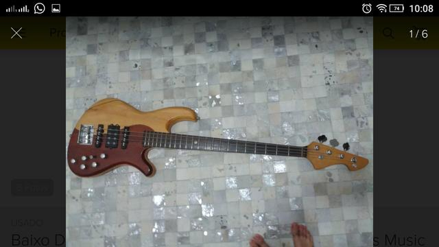Baixo Deoliveira Modelo Dream 4 Cordas Jazz Bass Music Man