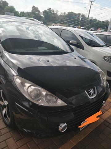 Peugeot 307sw preto, revisado e completo