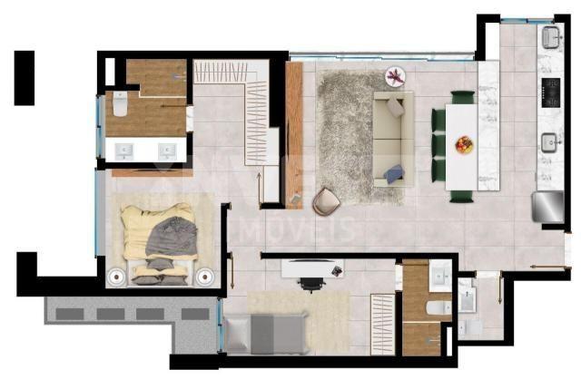 Apartamento à venda com 2 dormitórios em Setor bueno, Goiânia cod:620914 - Foto 4