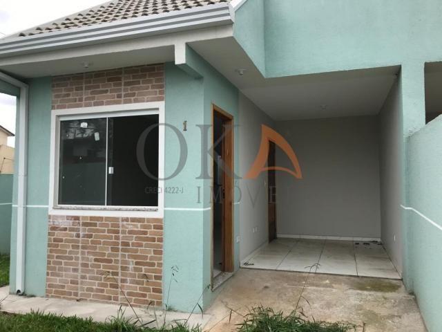 Casa de esquina 01 dormitório com preparação para ático em curitiba é na oka imóveis - Foto 2