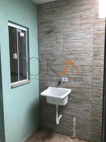 Casa de esquina 01 dormitório com preparação para ático em curitiba é na oka imóveis - Foto 12