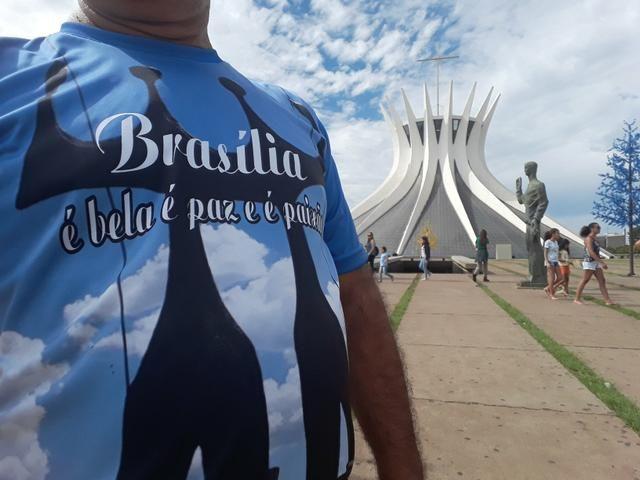 Camisetas Brasília minha paixão