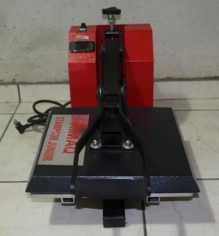 07ef6e2f4 Máquina de estampar camisetas Stampcor Junior Rimaq - Equipamentos e ...