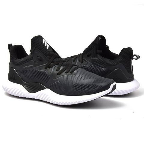 e4c50f42adb Tenis adidas Alpha Bounce Preto C  Branco - Roupas e calçados ...