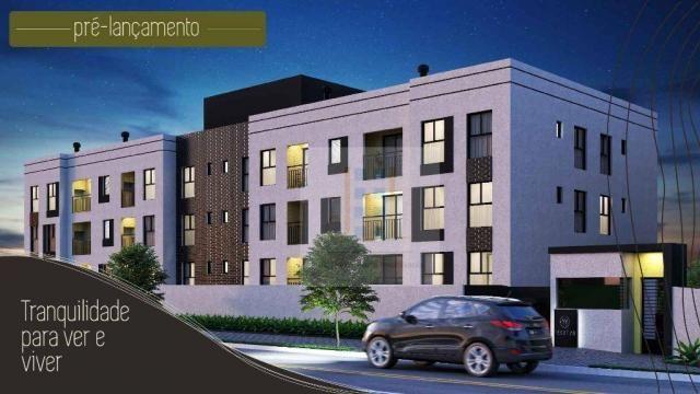 Apartamento com 2 dormitórios à venda, 112 m² - centro - araucária/pr