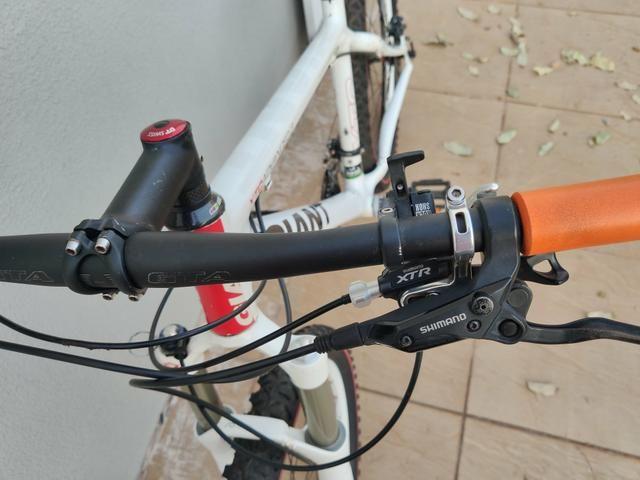 Bike Giant carbono Deore Xt e Xtr - Foto 5