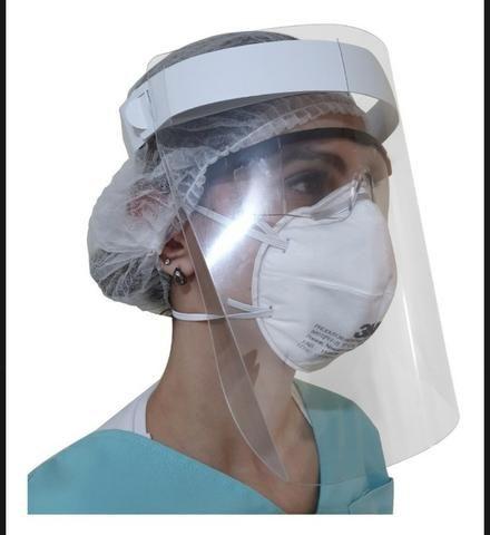 Máscara de proteção facial shield - Foto 5