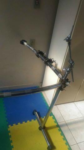 Rack Adah C/ 2 Clamps E 2 Extensores P/ Prato + Frente Extra - Foto 6