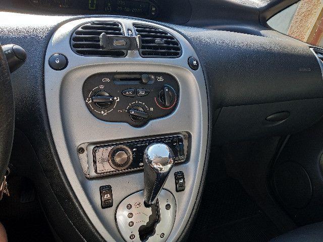 Picasso GLX 2.0 gasolina 2008/08 prata automatica couro completa - Foto 5