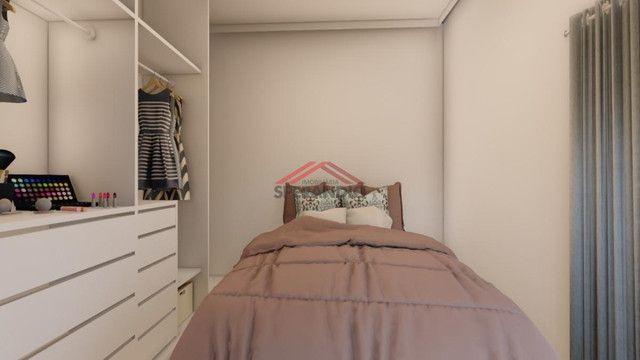 Última unidade! Apartamento novo c/ 1 suíte + 2 quartos, frente para Avenida Pérola - Cond - Foto 7
