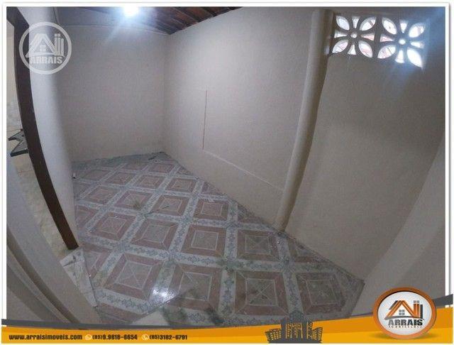 Casa com 3 dormitórios para alugar, 90 m² por R$ 900,00/mês - Vila União - Fortaleza/CE - Foto 10
