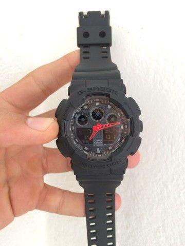 Relogio Casio G-Shock GA-100 A prova d'água  - Foto 4