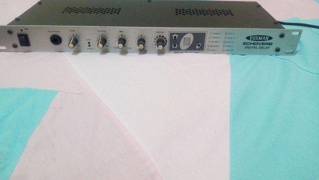 VozMan EchoVerb (processador de Reverb para Miclofone, bateria, violão etc...
