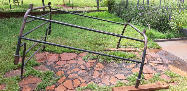 Grade de ferro carroceria C20, D20 - Foto 2