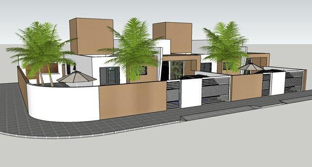 Casa solta de esquina, 3 qts, com piscina! - Foto 2