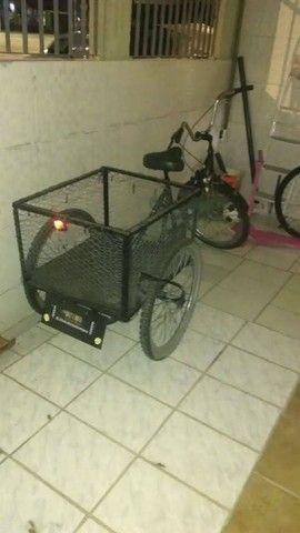 Vendo bicicleta triciclo cargueira - Foto 2