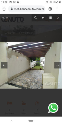 Vendo ou Alugo Casa Linda 3 suítes na Lagoa Seca - Foto 5