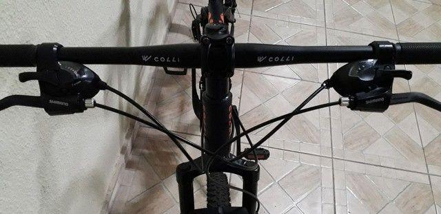 Bike  aro 29  nota fiscal tudo  zera   - Foto 4