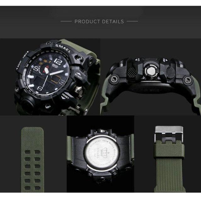 Relógio de Pulso Masculino à prova d'água - Foto 4