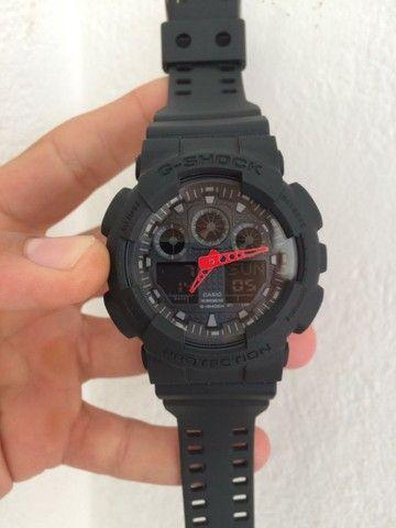 Relogio Casio G-Shock GA-100 A prova d'água  - Foto 5