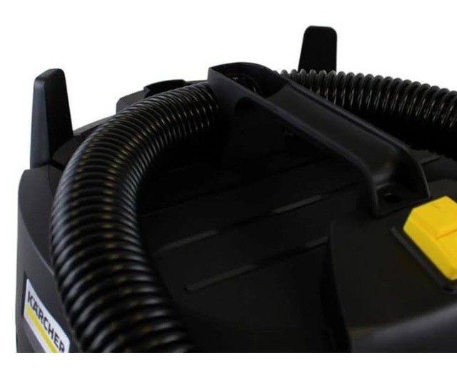Aspirador de pó e líquido 15 litros 1250wts NT 585 Basic da Karcher - Foto 4