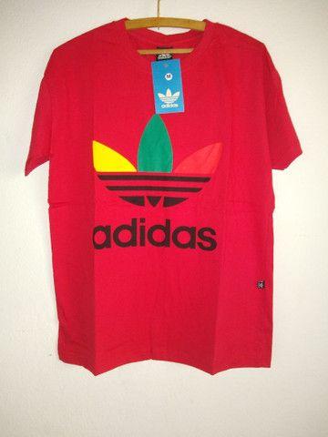 Camisas 30.1  , 5 por 110,00 tem muitas estampas  - Foto 3