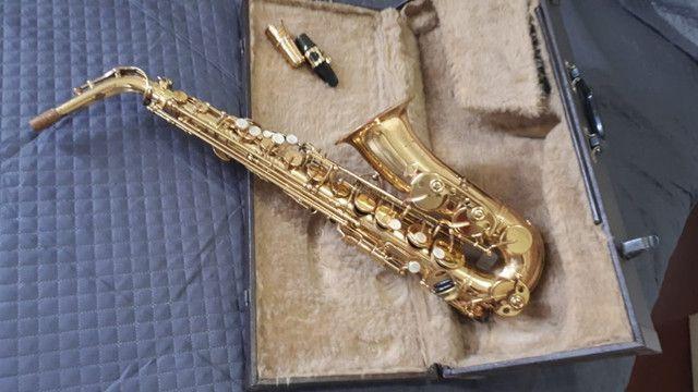 Saxofone Alto Weril Master com Biqueira Selmer  - Foto 2