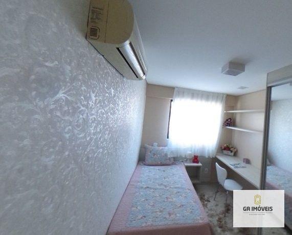 Apartamento à venda, 3 quartos, 2 vagas, Farol - Maceió/AL - Foto 3