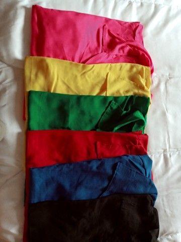 Camisa Feminina Blusa Social - Foto 3
