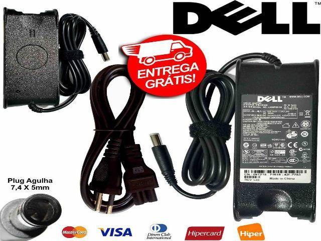 Fonte Notebook Carregador Dell Inspiron Lat. Prec. Studio Vosto -Novo- Entrega Grátis