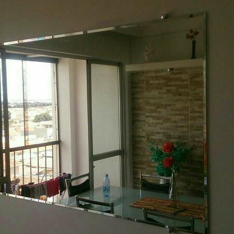 Espelho bisotado 1,60x0,80 instalado , tudo novo!