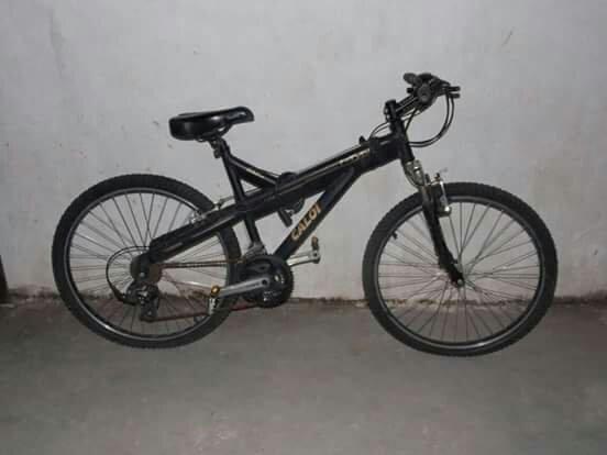 Vendo bicicleta caloi T-Type 21v