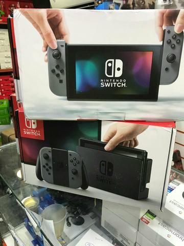 Nintendo Switch - Grey ou Neon (Lacrado a Pronta Entrega)