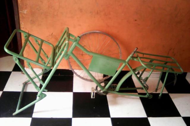 Bicicleta esquadro de cargueira