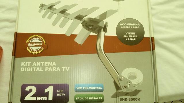 Vende se antena digital
