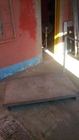 Carinho plataforma 4 rodas baixo