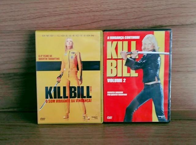 DVDs:Kill Bill volume:1,2