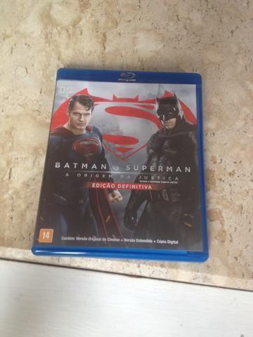 Blu Ray Batman vs Superman