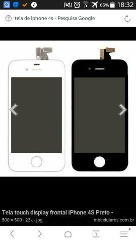 Telas de iPhone 4s novas.