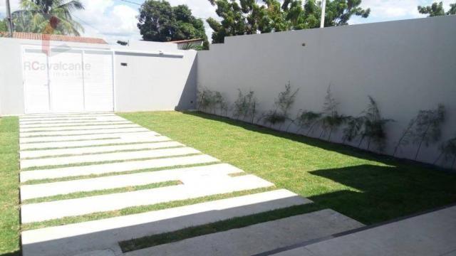 Casa Eusébio 03 quartos amplo terreno - Foto 4